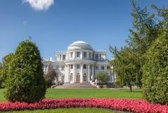 Palais de Yelagin dans le St Petersbourg, Russie Photographie stock libre de droits