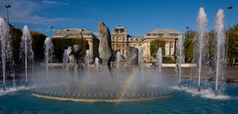Palais des美术在里尔 库存照片