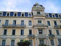 Palais des Anglais na ulica 8 1945 Maja beaulieu-sur-mer obrazy stock
