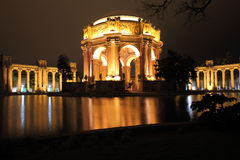 Palais des beaux-arts à San Francisco Images stock