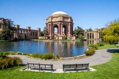 Palais des beaux-arts à San Francisco Photographie stock