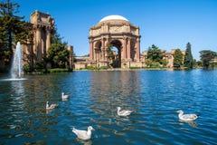 Palais des beaux-arts à San Francisco Image libre de droits