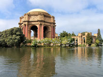 Palais des beaux-arts San Francisco images stock