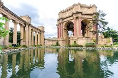 Palais des beaux-arts, San Francisco Images stock