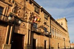 Palais des comptes de Gomara, Soria, Espagne photos libres de droits