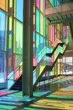 The Palais des congrès, Montreal Stock Images