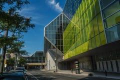 The Palais des congrès de Montréal Royalty Free Stock Photos
