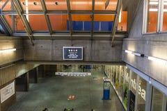 The Palais des congrès entrance Stock Photography