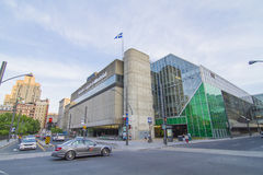 Palais des Congres-Montreal Royalty Free Stock Photography