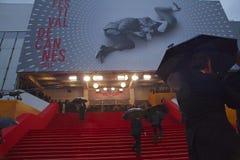 Palais des-festivaler royaltyfria foton