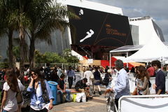 Palais des Festivals Royalty Free Stock Image