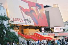 Palais des Festivals 2000 Royalty Free Stock Photo