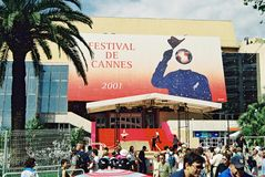 Palais des Festivals 2001 Royalty Free Stock Photography