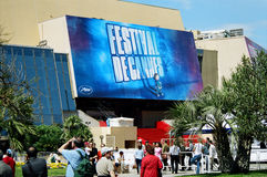 Palais DES-Festivals 2004 Lizenzfreie Stockfotos