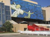 Palais DES-Festivals in Cannes stockbilder