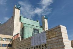 Palais des festivals ou du Palacio de Festivales De la Cantabrie en San images stock