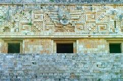 Palais des Gouverneurs d'Uxmal Photo stock