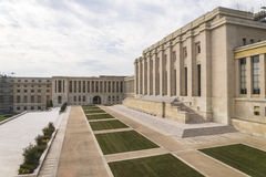 Palais des Naties Royalty-vrije Stock Afbeelding