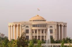 Palais des Naties in de ochtend, Dushanbe, Tadzjikistan Royalty-vrije Stock Foto's