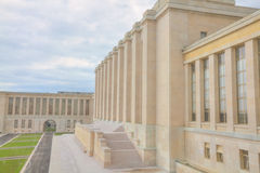 The Palais des Nations. One major building of the United Nations in Geneva, Switzerland Royalty Free Stock Image
