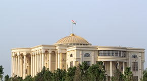 Palais des Nations morgens, Dushanbe, Tadschikistan Lizenzfreie Stockfotos