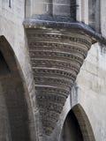 Palais des Papes λεπτομέρεια αρχιτεκτονικής, Αβινιόν Γαλλία Στοκ φωτογραφίες με δικαίωμα ελεύθερης χρήσης