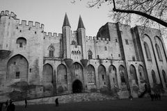 Palais des Papes Royalty Free Stock Photo
