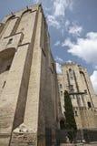 Palais des papes. Photographie stock libre de droits