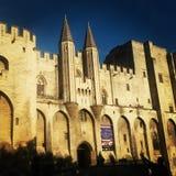 Palais des Papes 库存图片