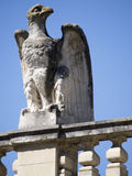 Palais des Papes architecture detail, Avignon France Royalty Free Stock Image