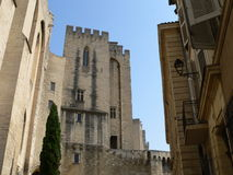 Palais des Papes, Avignon ( France ) Stock Photo