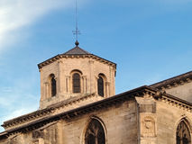 Palais des Papes, Avignon, France. Palais des Papes  (The Pope's Palace) in Avignon ( France) - unesco world heritage site; Women monastery Stock Image
