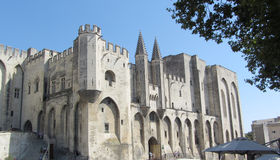 Palais des Papes, Avignon, France Stock Images