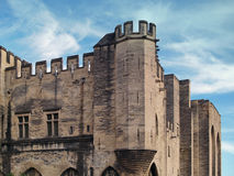 Palais des Papes, Avignon, France Royalty Free Stock Images