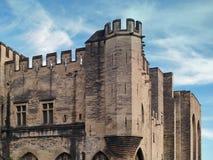 Palais des Papes, Avignon, France. Palais des Papes  (The Pope's Palace) in Avignon ( France) - unesco world heritage site Royalty Free Stock Images