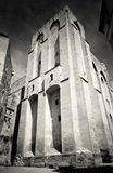 Palais des Papes in Avignon, France. Medieval pope's fortress in Avignon, Provence, southern France Stock Photo
