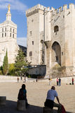 Palais des Papes, Avignon Royalty Free Stock Photography