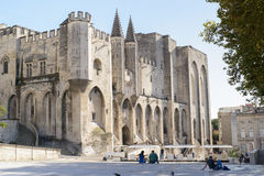 Palais des Papes, Avignon Royalty Free Stock Photos