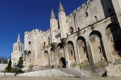 The Palais des Papes in Avignon Royalty Free Stock Photos