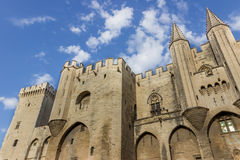 Palais des Papes, Avignon France Royalty Free Stock Photos