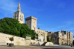Palais des Papes in Avignon, France Royalty Free Stock Images
