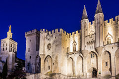 Palais des papes Royalty Free Stock Photos