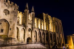 Palais des papes Royalty Free Stock Images