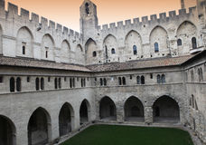 Palais des Papes, Avignon, Provence, France Stock Photography