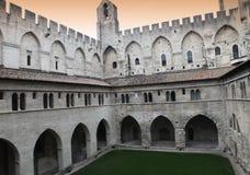 Palais des Papes, Avignon, Provence, France Stock Photography