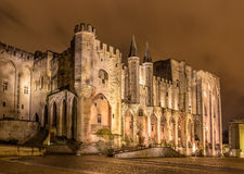 Palais des Papes in Avignon, a UNESCO heritage site, France Royalty Free Stock Photography