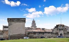 Palais des Papes in Avignon, Stock Images