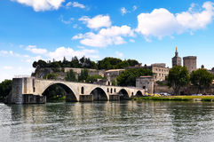 Palais des Papes in Avignon, Stock Image