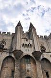 Palais des Papes in Avignon Stock Images