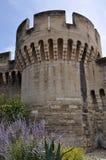 Palais des Papes in Avignon Stock Photo